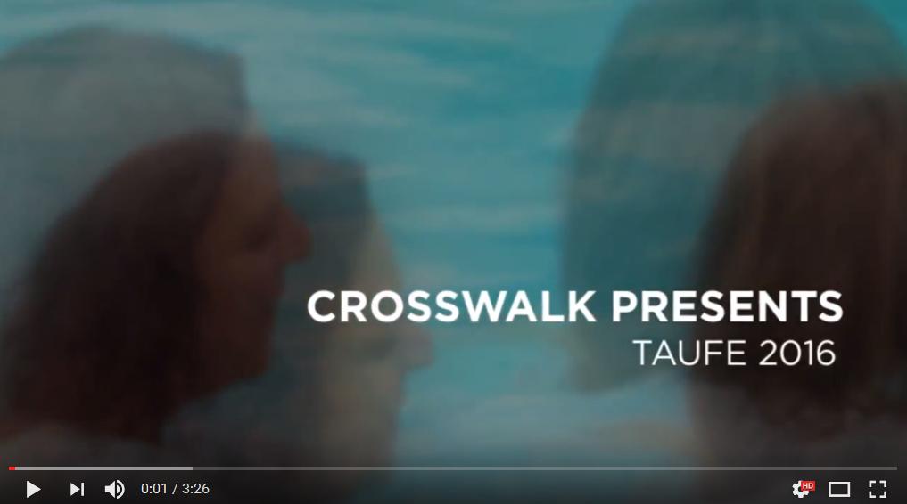 CrossWalk Taufe 2016