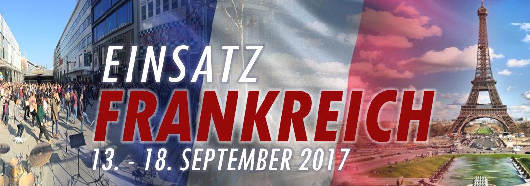 Einsatzbericht Frankreich 2017
