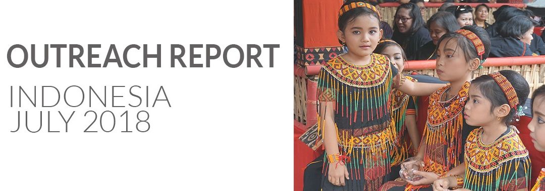 Outreach Report Indonesia 2018