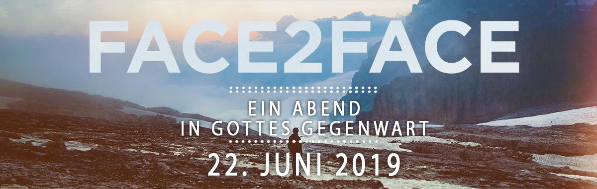 FACE 2 FACE CrossWalk Event Frankfurt