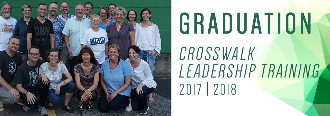 Graduation CrossWalk Leadership Training 2017-2018