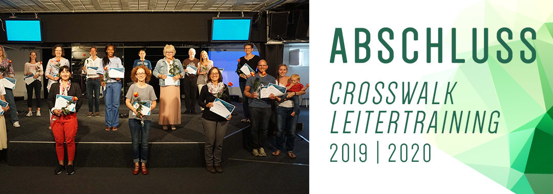 Abschluss CrossWalk-Leitertraining 2019/2020