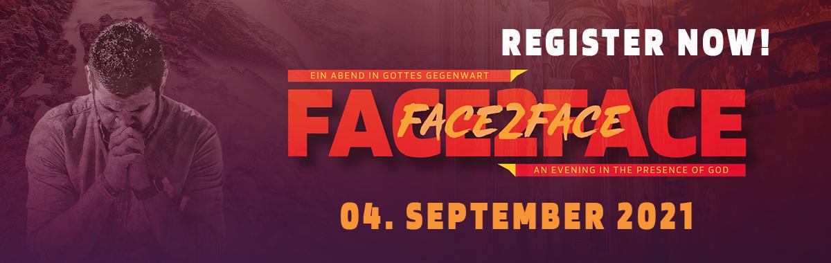 FACE 2 FACE Worship Anbetung Gottesdienst Gemeinschaft Jesus